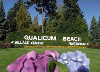 qualicum beach sign